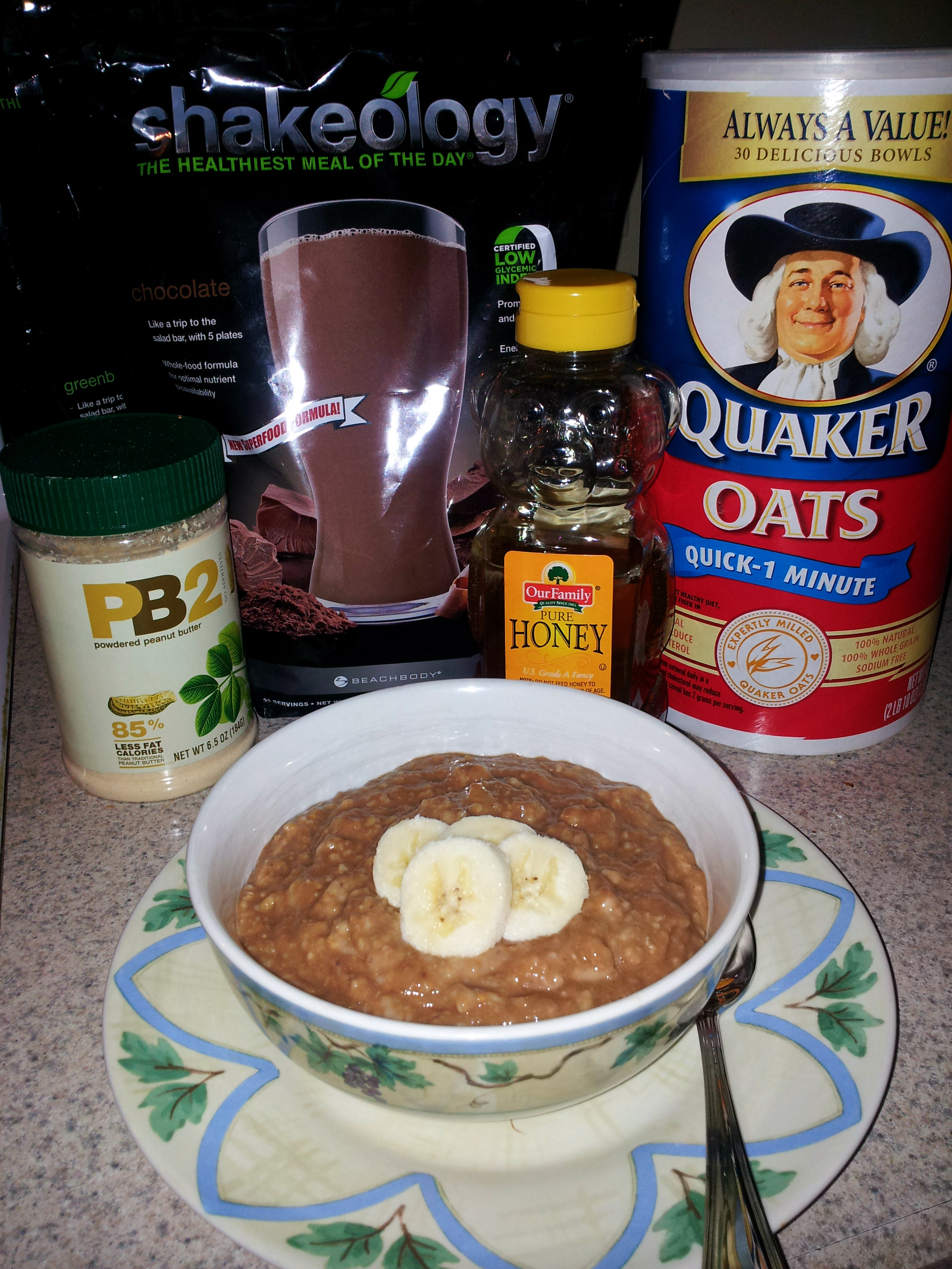 Chocolate Shakeology Oatmeal with a twist! | Janet Tripp | Fitness ...